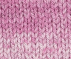 Charity DK Print - Frosted Pink 221