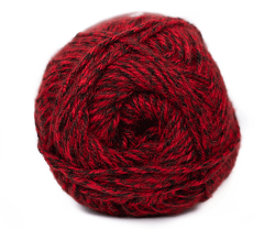 Denim Look Aran -  Red Door 040