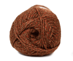 Denim Look Aran -  Brandy Brown 171